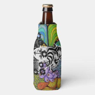 Porta-garrafa Refrigerador da garrafa de pop de Psicodelic