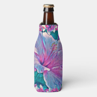 Porta-garrafa Refrigerador da garrafa do hibiscus #2