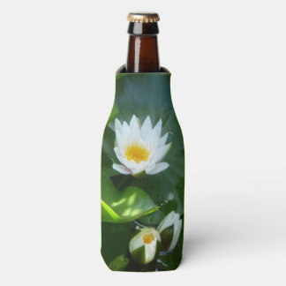 Porta-garrafa Refrigerador da garrafa dos lírios de água