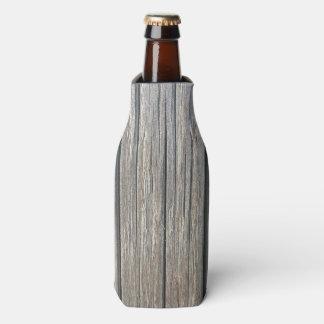 Porta-garrafa Refrigerador de madeira da garrafa do teste padrão