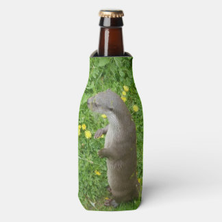 Porta-garrafa Refrigerador europeu ereto da garrafa da lontra