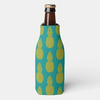 Porta-garrafa Refrigerador havaiano tropical da garrafa do teste