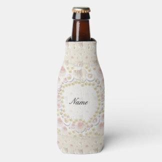 Porta-garrafa Seashells e pérolas personalizados