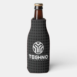 Porta-garrafa Techno Streetwear - logotipo - refrigerador da