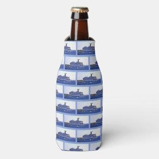 Porta-garrafa Teste padrão do visitante do navio de cruzeiros de