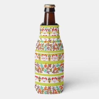 Porta-garrafa Teste padrão psicótico da páscoa colorido