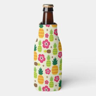 Porta-garrafa Teste padrão sem emenda do verão tropical do