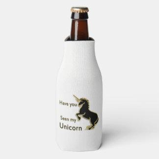Porta-garrafa Unicórnio mágico do conto de fadas do ouro