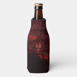 Porta-garrafa Vai ao inferno