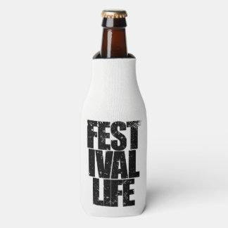 Porta-garrafa VIDA do FESTIVAL (preto)