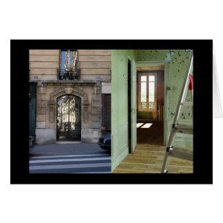 PORTA - homenagem a Duchamp Cartão Comemorativo