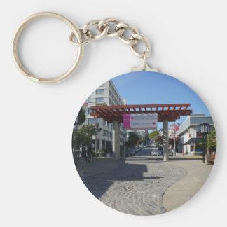 Porta Japantown de Torii, chaveiro de San