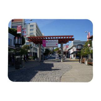 Porta Japantown de Torii, ímã da foto de San