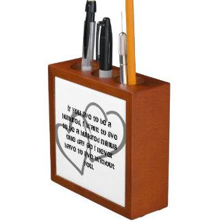 Porta Lápis A escola Home do escritório personaliza destinos