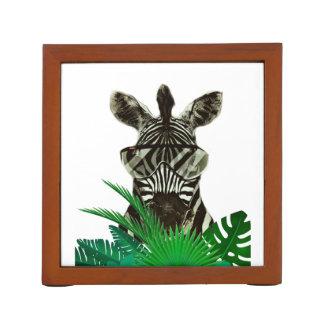 Porta-lápis Animal do estilo da zebra do hipster