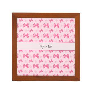 Porta-lápis Arcos cor-de-rosa bonitos do cetim
