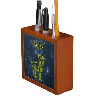 Porta Lápis Aries brilhante