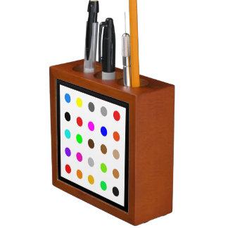 Porta-lápis Arte moderna Dotty