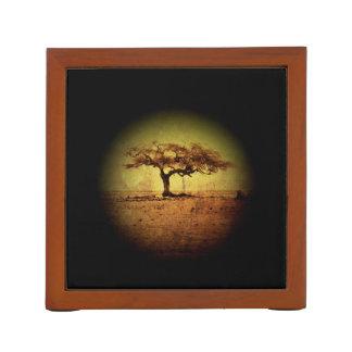 Porta Lápis Árvore rústica