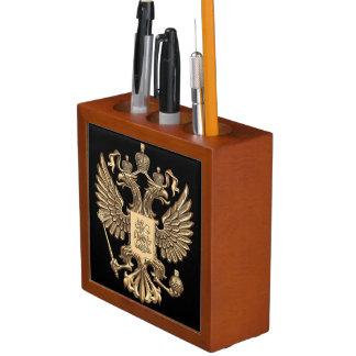 Porta Lápis Brasão do russo