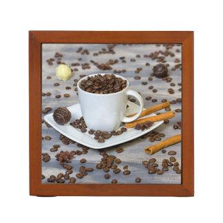 Porta Lápis Café e especiarias