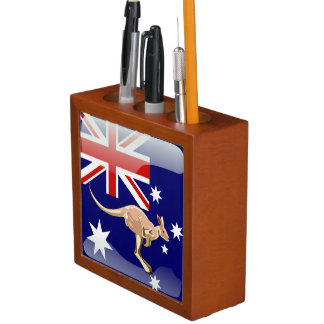 Porta-lápis Canguru australiano