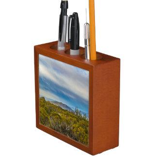 Porta-lápis Cena Patagonian da paisagem, Santa Cruz, Argentina