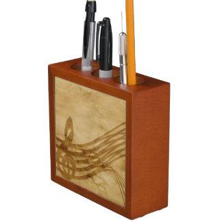 Porta-lápis Chave do violino
