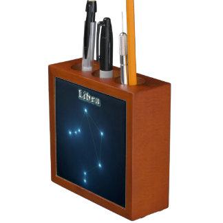 Porta-lápis Constelação do Libra