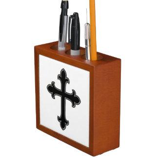 Porta Lápis Cruz cristã