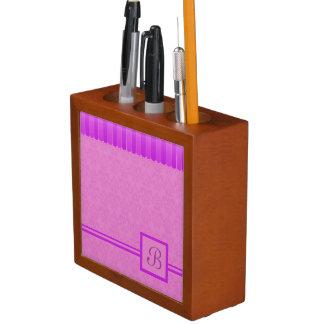 Porta-lápis Damasco desvanecido 4