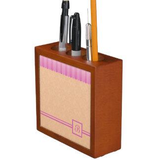 Porta-lápis Damasco desvanecido 5