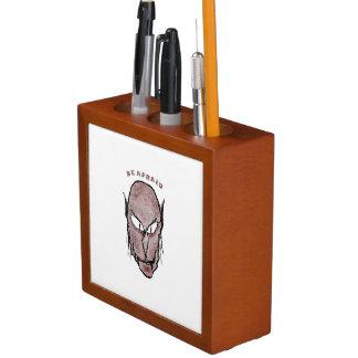 Porta-lápis Desenho assustador do vampiro