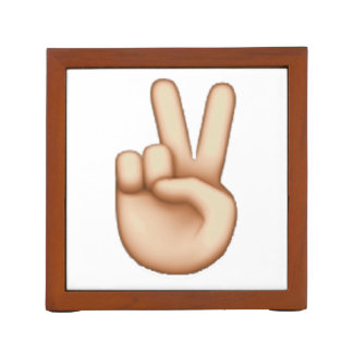 Porta-lápis Emoji - paz
