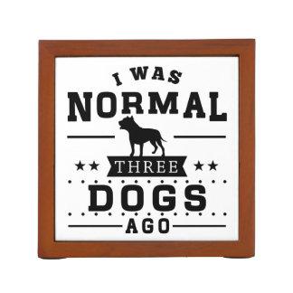 Porta Lápis Eu era três cães normais há