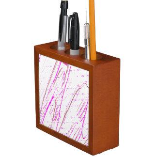 Porta-lápis Fantasia abstrata