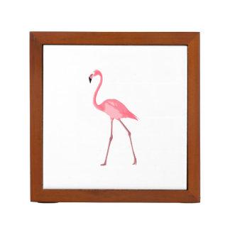 Porta-lápis Flamingo cor-de-rosa bonito