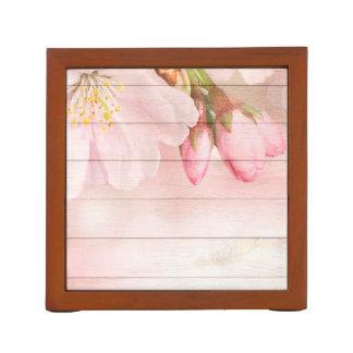 Porta-lápis Flor de cerejeira