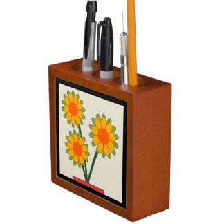 Porta-lápis Girassóis Loveable
