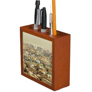 Porta-lápis Ideia aérea de subúrbios de Lima, Peru