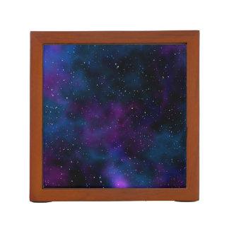Porta Lápis Imagem bonita da noite estrelado da galáxia do