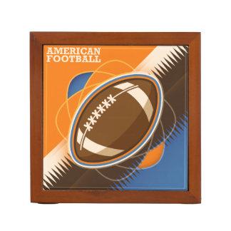 Porta-lápis Jogo de bola do esporte do futebol americano