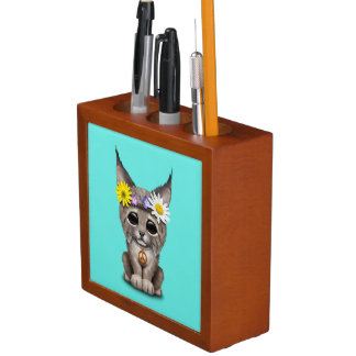 Porta-lápis Lince bonito Cub do Hippie