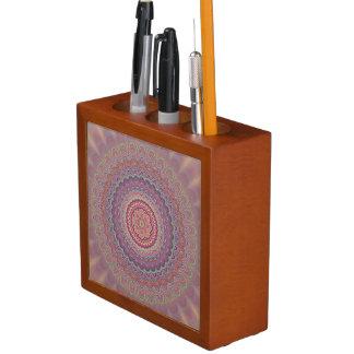 Porta-lápis Mandala geométrica do Hippie