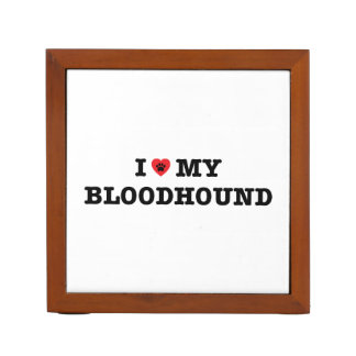 Porta Lápis Mim coração meu Bloodhound
