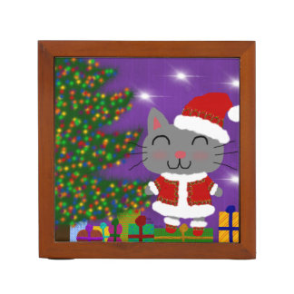 Porta Lápis Natal de Meowy
