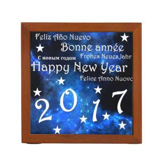 Porta-lápis O feliz ano novo 2017