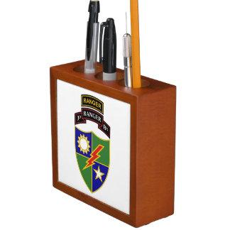 Porta-lápis ó Organizador da mesa da guarda florestal w/Tab do