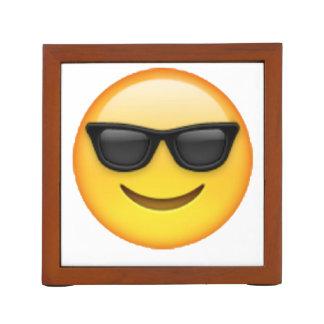 Porta-lápis Óculos de sol - Emoji