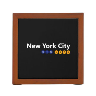 Porta-lápis Organizador da mesa da Nova Iorque, New York